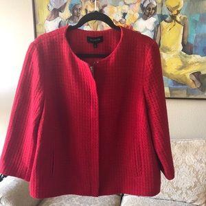 Women's red jacket Talbots
